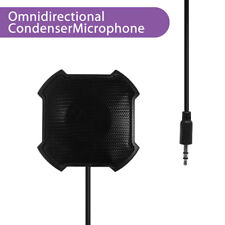 Omni-Directional Stereo Conference VOIP Skype Microphone Speakerphone Amplifier