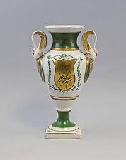7940068 Porcelaine Amphore Vase Poignée De Cygne 19. Jh