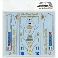 Museum Collection 1/20 Lotus 88B Silver Stone Test Decal for EBBRO D807