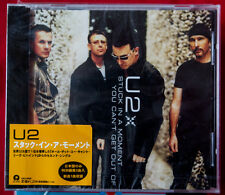 U2 STUCK IN A MOMENT rare cd single Japan + obi POP Bono DM