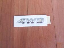 """OEM Rear Trunk Emblem Badge """"4WD"""" for 10-13 Hyundai Tucson ix35 w/Tracking No.."""