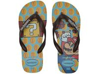 Havaianas Men's Mario Bros Flip Flop Sandals - Ice Blue/Dark Brown NWT