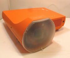 Promethean PRM-10 Short Throw LCD Projector KJ7-1001  Used 4666 Hours W/ Remote