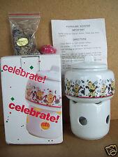 The Market Place Celebrate Potpourri Scenter Porcelain W/Potpourri & Candle Nib