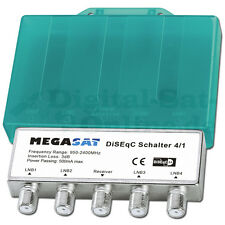 ► DiSEqC Schalter 4-1 WSG MegaSat