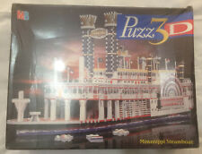 Vintage 1998 Puzz3D Mississippi Steamboat BNIB Sealed Extra Challenging