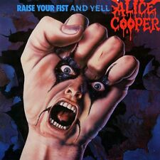 Alice Cooper-Raise Your Fist And Yell Vinyl LP Hair Metal Sticker or Magnet