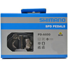NEW 2019 Shimano PD-A600 SPD Aluminum Road Cycling Pedals & SM-SH51 Cleats: GRAY