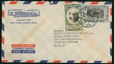 Mayfairstamps Costa Rica 1952 Zuniga & Cia To US Airmail cover wwo1629