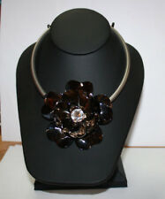 MARNI H&M Metal Flower Torques Necklace