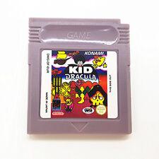 Kid Dracula Game Boy GB Nintendo Game Boy GB English Play Now !