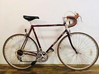 Vintage Hanter Turbo 12 Touring Road Bike ~ 59 cm frame ~ Ishiwata Tubing