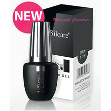 Silcare Super Shine Dry Top No Wipe 9g Hybrid Nails UV GEL Polish Manicure