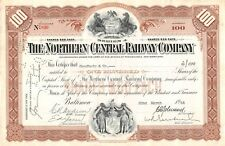 The Northern Central Railway Compagny Certificate 1955 (830)