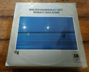 WALTER WANDERLEY SET - WHEN IT WAS DONE LP AMLS 950 A&M RECORDS 1969 VG++!
