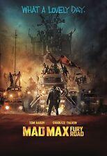 MAD MAX FURY ROAD MANIFESTO TOM HARDY CHARLIZE THERON GEORGE MILLER