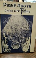 "Rare Saul Raskin ""PIRKE ABOTH SAYINGS OF THE FATHERS"" 1969 Etchings w/ great DJ"
