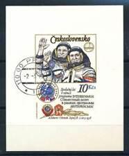 568218) Tschechoslowakei Bl.39B gest. Raumfahrt