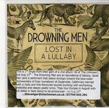 (ED890) The Drowning Men, Lost In A Lullaby - 2012 DJ CD