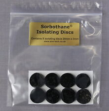 SRM TECH SORBOTHANE ISOLATING DISCS - PACK OF 8 - GREAT VALUE !!!