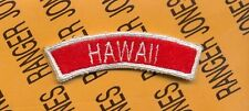 Us Army Recruiting Command Hawaii tab arc patch
