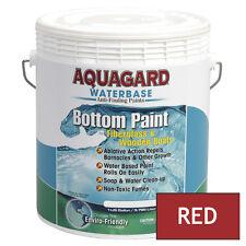 Aquagard Waterbase BOAT MARINE ANTI FOULING BOTTOM PAINT 1 GALLON RED