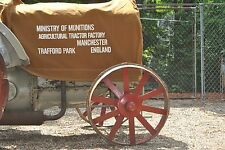 Fordson Tractor Cover - Ministry of Munitions