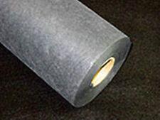 """BLACK MEDIUM TEAR AWAY Machine Embroidery Stabilizer Backing 8""""x10YD Roll 1.8oz"""