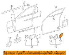 Mercedes MERCEDES-BENZ OEM C220 Door-Rear Side View Mirror Glass Left 2028100121