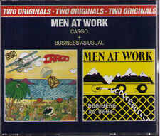MEN AT WORK | CARGO / BUSINESS AS USUAL | 2-CD-Album