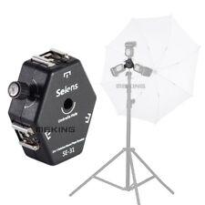 Selens SE-31 Triple Mount Flash Hot Shoe Bracket Light Stand Umbrella Holder