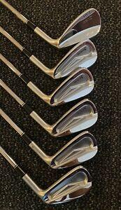 Srixon z785 forged iron set 6-PW + AW Stiff Nippon Tour120, excellent condition!
