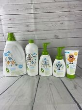 Lot of baby products. Laundry soap/dish soap/shampoo / sanitizer / sunscreen -G2