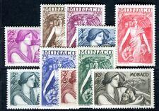 MONACO 1941 247-256 * TADELLOS SATZ (F4422