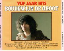 CDBOUDEWIJN DE GROOTvijf jaar hits2CD EX (R2786)
