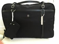 "VICTORINOX Bag Swiss Army Victoria Divine BLACK 17"" Laptop Boarding Travel TOTE"