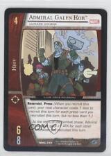 2006 Booster Pack Base #MHG-045 Admiral Galen Kor (Lunatic Legion) Card 3v2