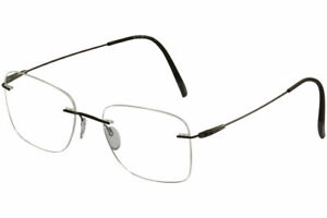 Silhouette Eyeglasses Dynamics Colorwave Chassis 5500 Rimless Optical Frame