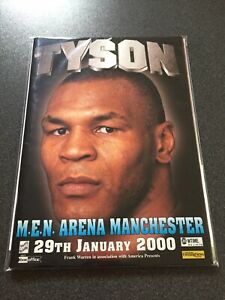 Mike Tyson vs Julius Francis Boxing Programme & Ticket - Manchester 2000