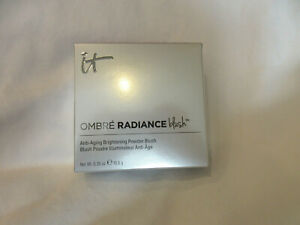 IT Cosmetics Ombre Radiance Blush Anti Aging Brightening Sugar Plum NIB
