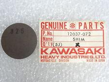 Kawasaki NOS NEW  12037-072 Tappet Shim 3.25T KZ KZ750 LTD CSR 1976-84