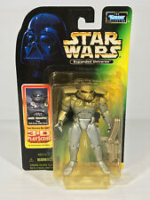 STAR WARS EXPANDED UNIVERSE DARK TROOPER Action Figure 3-D Play Scene Card MOC