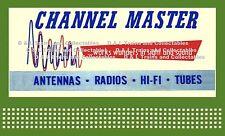 Billboard for Lionel Holder 1960 Channel Master Works Wonders Sight and Sound