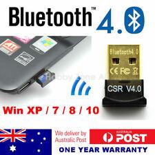 USB 2.0 Bluetooth V4.0 Dongle A2DP EDR Wireless Adapter Mac PC Laptop Win7 8 10