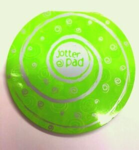 Round Note Pad New and Sealed swirl effect Green Cover with Green Paper 14cm