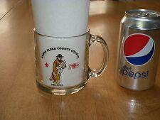 SANTA CLARA COUNTY FIRE SAFE COUNCIL - FIRE DEPT., Clear Glass Coffee Cup / Mug