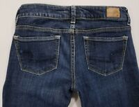American Eagle Women's Jeans Skinny Kick Stretch Ultra Low Rise Size 4 x 33""