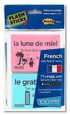 Post-It Flash Sticks - Intermediate Level French