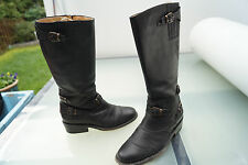 BUFFALO Damen Western Cowboy Stiefel Schuhe Westernstiefel Gr.38 schwarz Leder