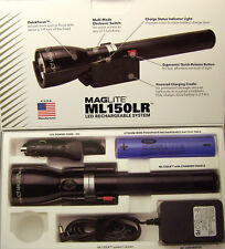 MAGLITE LED 3 C CELL RECHARGEABLE FLASHLIGHT ML150LR 1082 LUMENS WITH FREE GIFT
